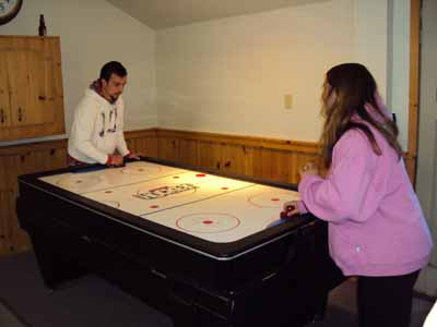 Game of Air Hockey