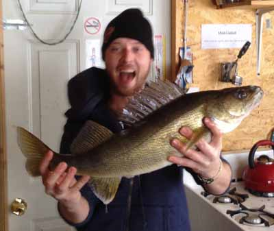 Trophy Walleye Fishing